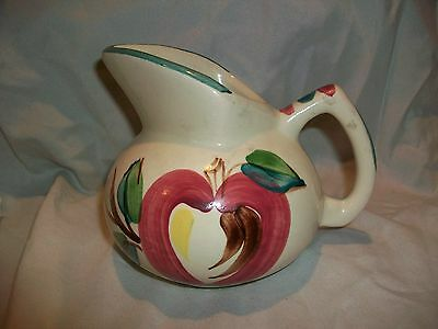 Vintage Purinton Pottery Kent Small Pitcher Jug Apple Creamer