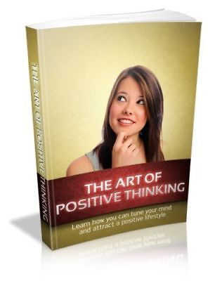 ebook The Art Of Positive Thinking PDF ebook with Resell Rights Free shipping