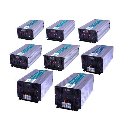 Lot Power Inverter Pure Sine Wave DC12V DC24V DC48V to AC220V/110V 300W-5000W