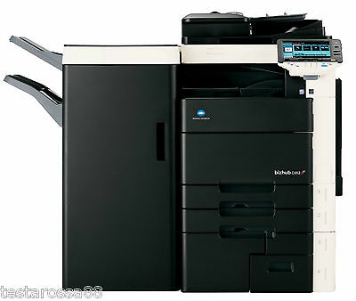 Konica Minolta Bizhub C652 Photocopier Printer Copy/Scan High Capacity Finisher
