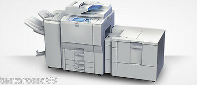 Ricoh MPC 6000 Colour Multifunction with Copy Scan Print & Heavy Duty Staple