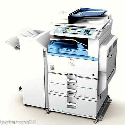 Ricoh MPC 3300 Colour Multifunction with Copy Scan & Print w OptionalStaple Unit