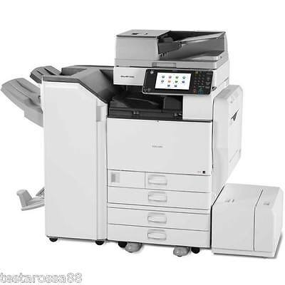 Ricoh MPC 5502 Colour Multifunction with Copy Scan Print with Staple finisher