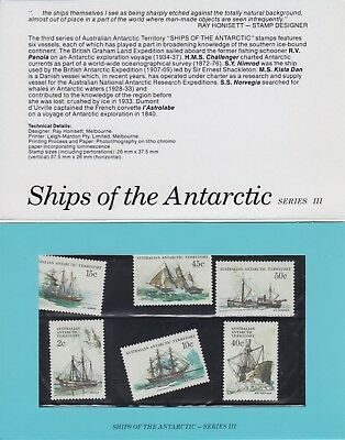 Stamps: Australian Ships of the Antarctic