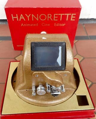 c.1955 Haynorette Animated Cine Editor Model 8 Original Boxed Made Great Britain