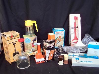 B/New Old Stock 1960's Mint Boxed Kitchenalia Assorted Kitchen Accessories