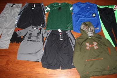 Boys Nike & Under Armour Lot Storm Hoodie Therma-Fit Pants Shirts Size Xl Nwt