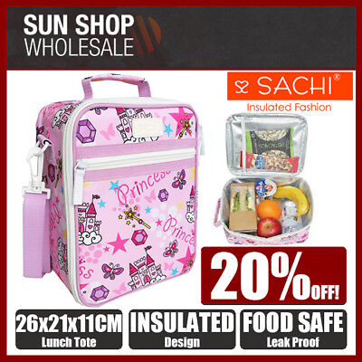 100% Genuine! SACHI Insulated Lunch Tote Cooler Bag Princess! RRP $39.95!