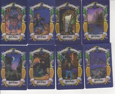 Harry Potter 3D Cards - 10 Cards with Chinese writing on the reverse