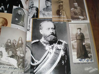 From  Royal  &  Noble Families.  Auktionskatalog. Sehr  Guter  Zustand . Results