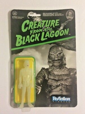 """Funko Reaction Super7 Chase Glow Creature From Black Lagoon 3.75"""" Action Figure"""