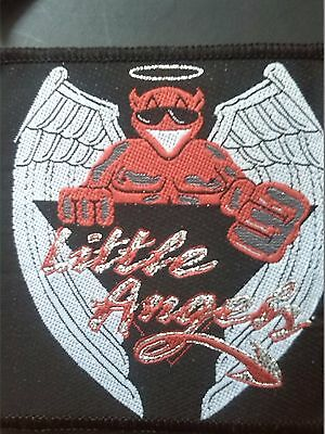 LITTLE ANGELS - Woven Patch