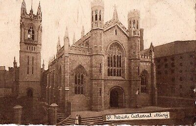 ST. PATRICK'S CATHEDRAL NEWRY CO. DOWN IRELAND MILTON POSTCARD sent in 1923