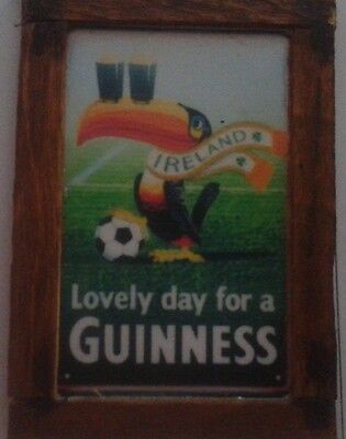 Dolls House A Pub Sign   Guinness Picture