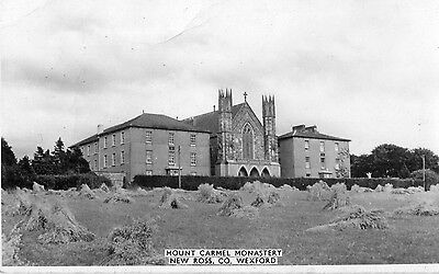 MOUNT CARMEL MONASTERY NEW ROSS CO WEXFORD IRELAND RP POSTCARD by CARDALL LTD