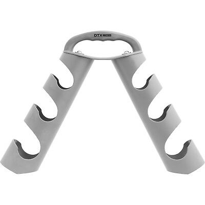DTX Fitness Grey Dumbbell Weight Storage Stand Holder/Rack for Gym Class Weights