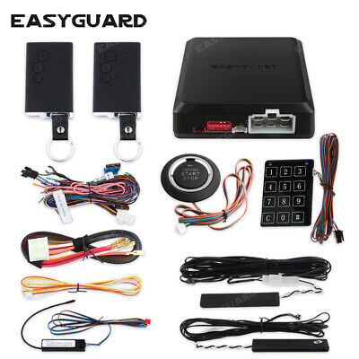 EASYGUARD PKE car alarm system remote engine start push button starter EC002-O