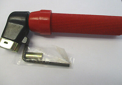 Electrode Holder ~ Twist Type PG 400 Amp ~ Red Handle