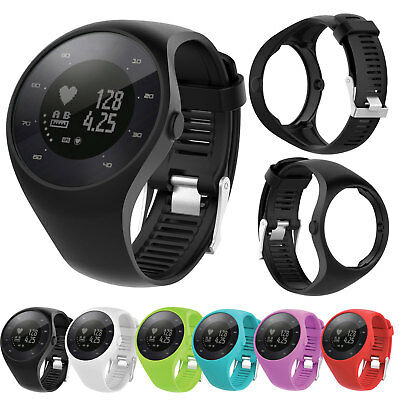 Silicone Rubber Replacement Band Sport Strap Wristband For Polar M200 GPS Watch