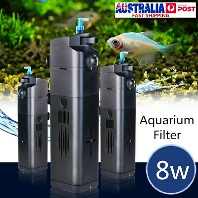 UV Sterilizer lIight Submersible Oxygen Pump Water Filter Aquarium Fish Tank