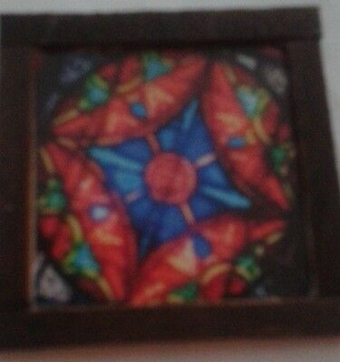 Dolls House A Stain glass look Picture