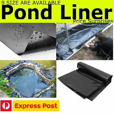9 SIZES Pond Liner Gardens Pools Membrane Reinforced Landscaping Underlaymentent