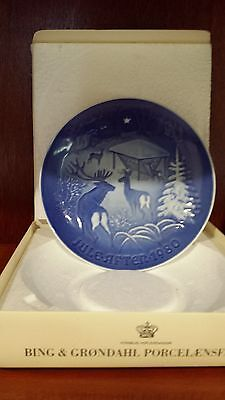 Copenhagen Porcelain B & G  1980 Jule-after