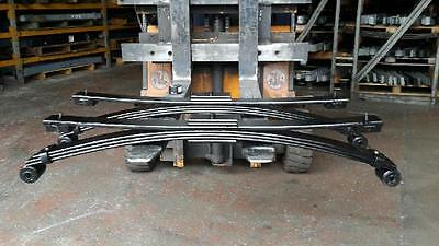 Isuzu Grafter 3.5 Ton Heavy Duty 3+1 Rear Springs X 2 With U Bolts And Nuts
