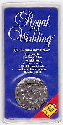 1981 Royal Wedding Commemorative Crown***Collectors***