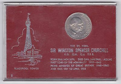 1965 Sir Winston Spencer Churchil Coin***Collectors***