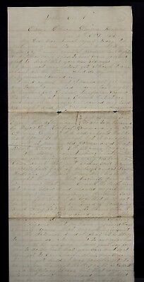 107th Illinois Infantry CIVIL WAR LETTER from Glasgow, KY - VICKSBURG BATTLE Etc