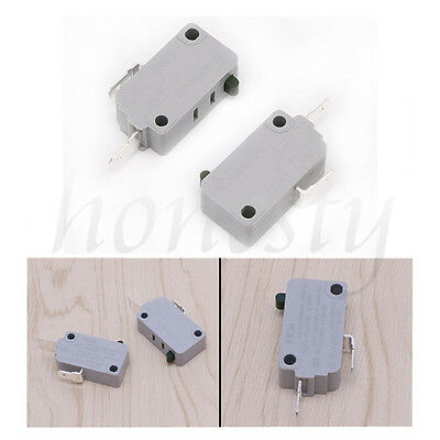 2Pcs Microwave Oven KW3A-16Z0 Door Micro Switch Normally Close Tool Useful