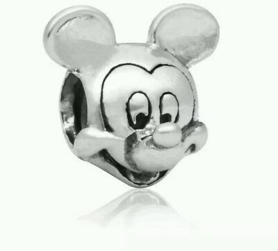 Mickey Mouse Disney charm stamped pandora S925 ale