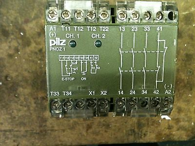 Pilz Safety Relay Pnoz 1 24Vdc 3No 1Nc