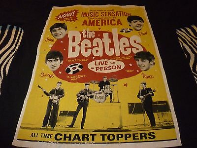 The Beatles Shirt ( Used Size M ) Good Condition!!!