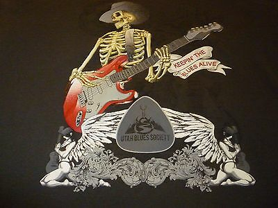 Utah Blues Society Shirt ( Used Size XL ) Very Nice Condition!!!