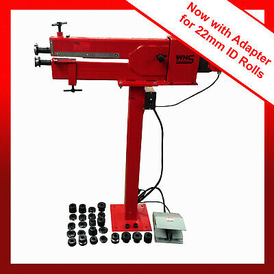 """WNS Power Bead Roller Former Rolling Machine Swage 395mm 15"""" 1.0mm 13 Sets Rolls"""