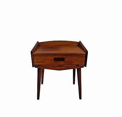 A Danish mid century night stand, rosewood