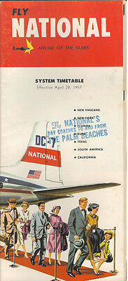 National Airlines system timetable 4/28/57 [2114]