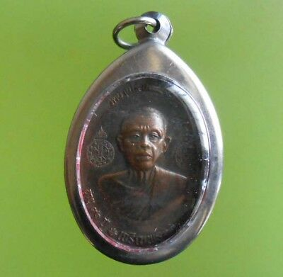 Beautiful Old Lp Koon Thai Buddha Amulet Real Rare !!!