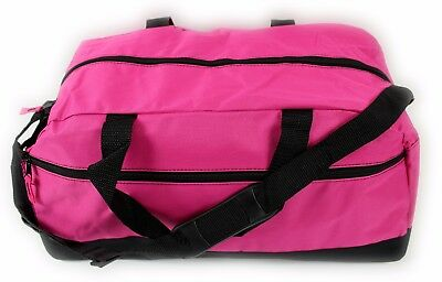 Ladies Large Pink Travel Holdall Bag SPORTS DUFFLE FITNESS TRAVEL GYM School New