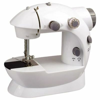 Electric Sewing Machine Mini 2 Speed Adjustment Light Foot Pedal Double Thread