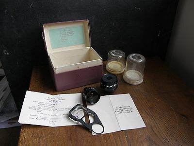 Cine Camera Quarz And Quarz-M Lens , Viewfinder,instructions Boxed  Free Uk Post