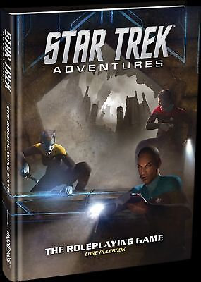 Star Trek Adventures Core Rulebook - Hardback Modiphius Entertainment New