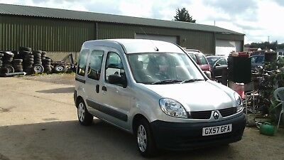Renault Kangoo Authentique Mpv Disabled 1.6 Petrol Automatic Mobility Ramp Auto