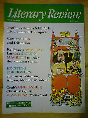 Literary Review December 1988