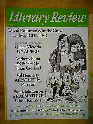 Literary Review July 1987