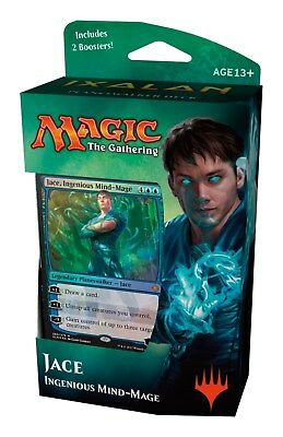 MTG: Ixalan Planeswalker Deck Jace, Ingenious Mind-Mage Wizards of the Coast New