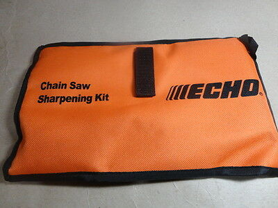 "Echo Chainsaw Saw Chain Sharpening Kit 3/16"" for .325 Chain 33SL 95VP 20LP 20BP"