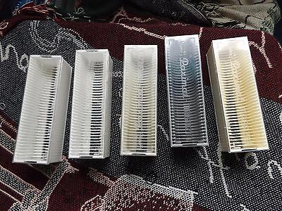 COLLECTION OF 5 x BRAUN SLIDE MAGAZINES - 36 CAPACITY 35mm (3)